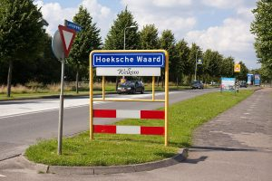 bord Hoeksche Waard OBL